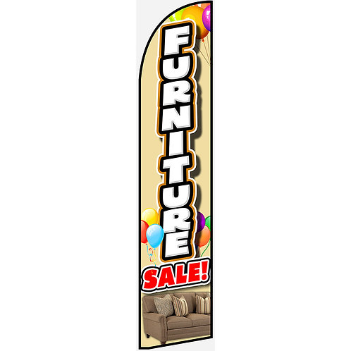 FURNITURE SALE Feather Flag