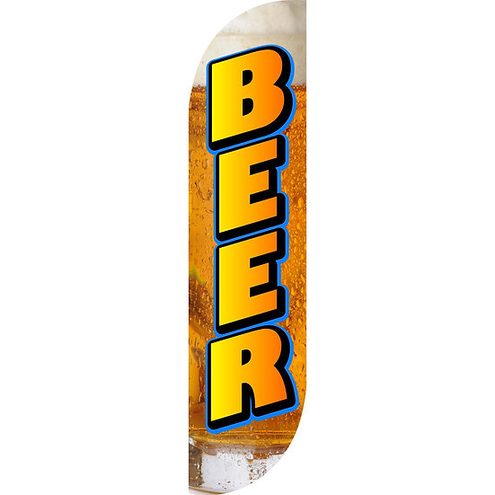 BEER Feather Flag