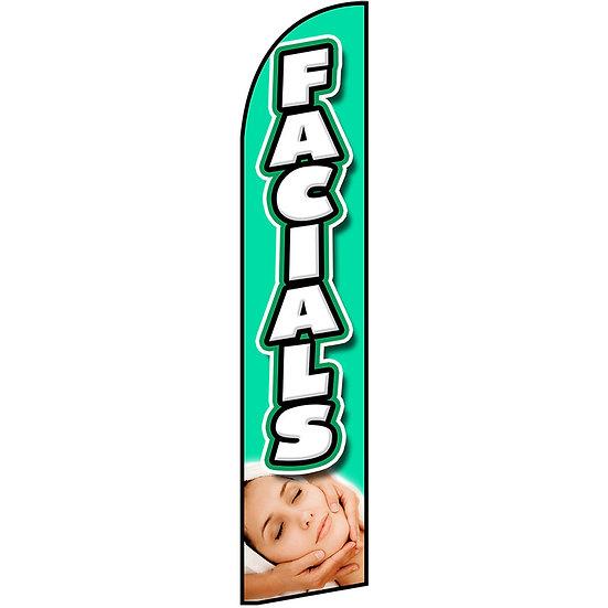 FACIALS Feather Flag