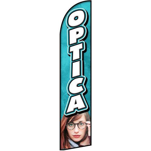 OPTICA Feather Flag