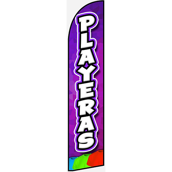 PLAYERAS Feather Flag