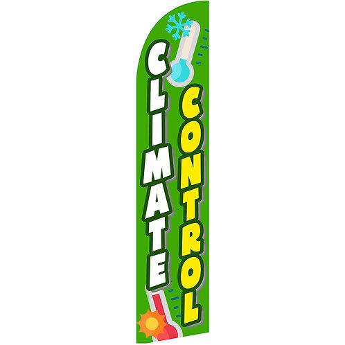 CLIMATE CONTROL Feather Flag