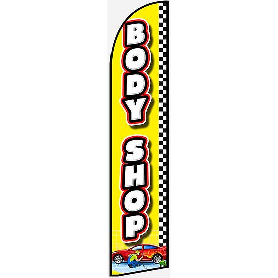 BODY SHOP Feather Flag