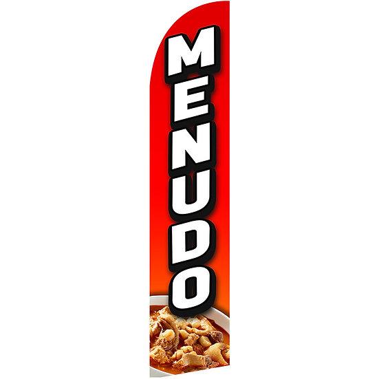 MENUDO Feather Flag