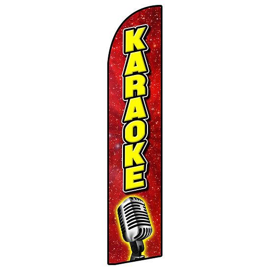 KARAOKE Feather Flag