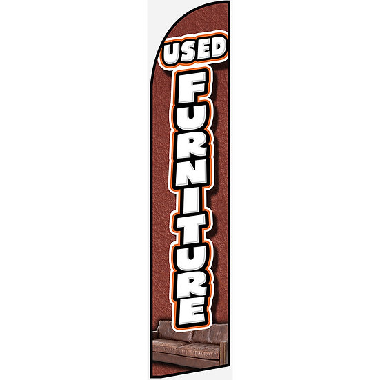 USED FURNITURE Feather Flag