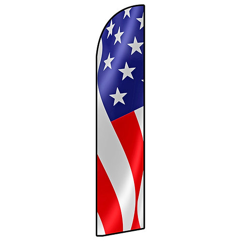 USA FLAG Feather Flag