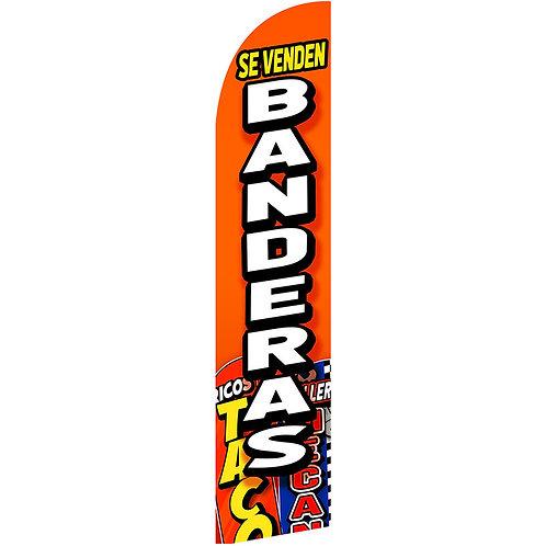 SE VENDEN BANDERAS Feather Flag