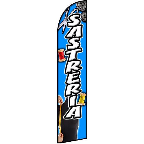 SASTRERIA Feather Flag