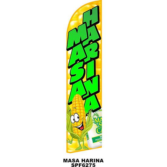 MASA HARINA Feather Flag