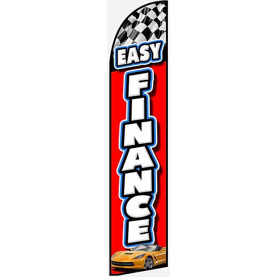 EASY FINANCE Feather Flag