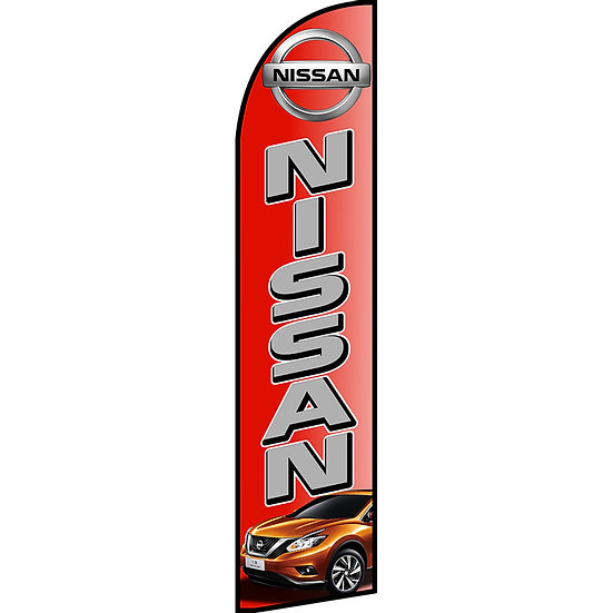 NISSAN Dealer Feather Flag