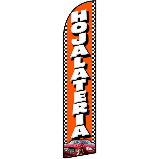 HOJALATERIA Feather Flag