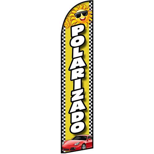 POLARIZADO Feather Flag