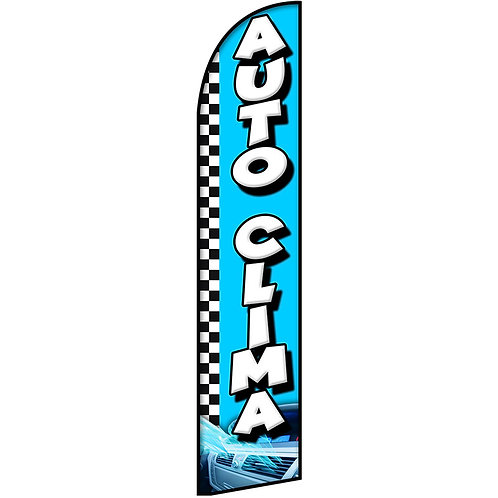 AUTO CLIMA Feather Flag