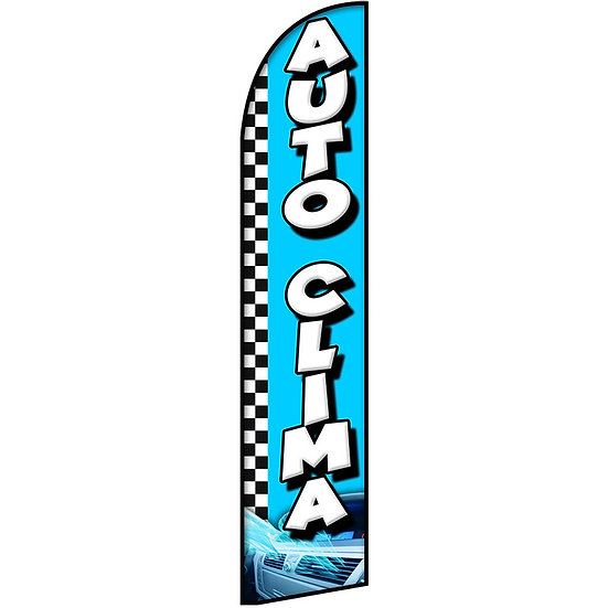 AUTO CLIMA Feather Flag
