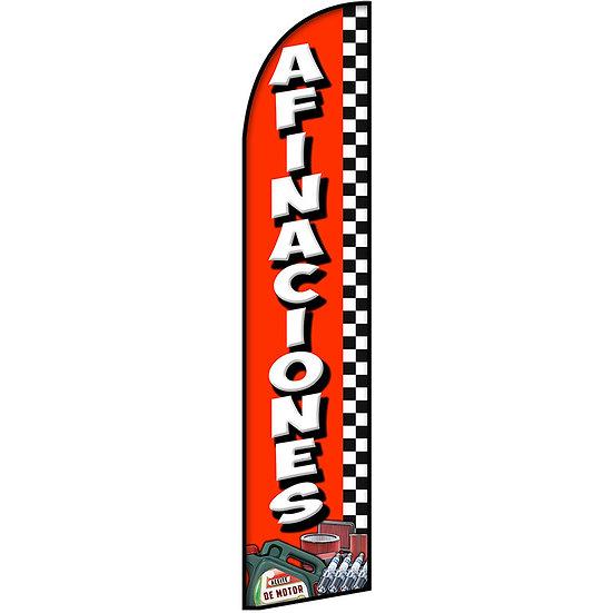AFINACIONES Feather Flag