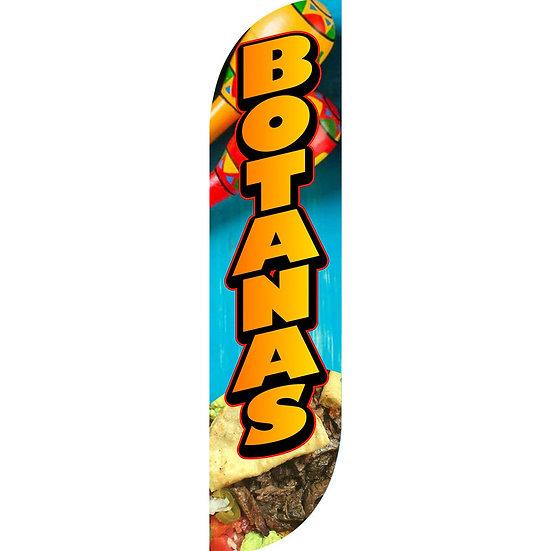 BOTANAS Feather Flag