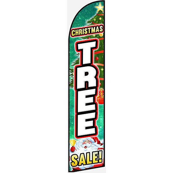 X-MAS TREES Feather Flag