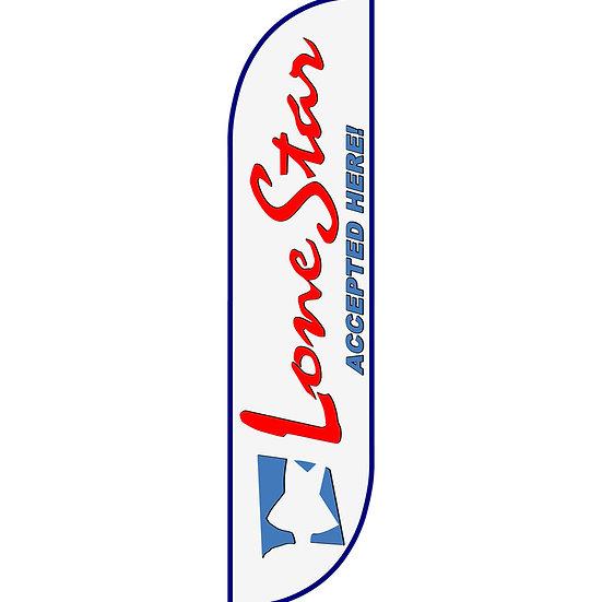 LONESTAR Feather Flag