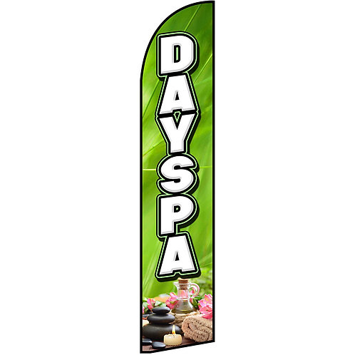 DAY SPA Feather Flag