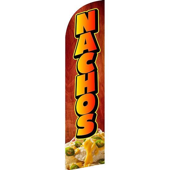 NACHOS Feather Flag