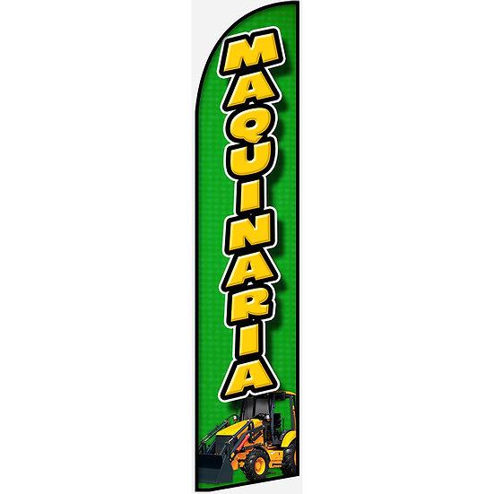 MAQUINARIA Feather Flag