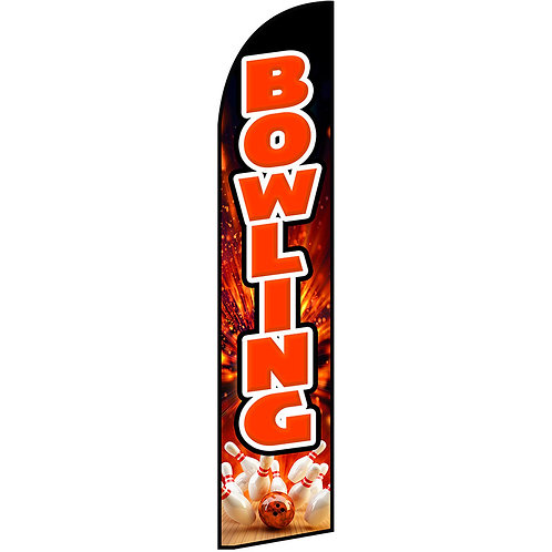 BOWLING Feather Flag