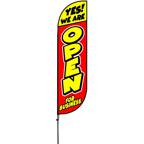SPF9428 YES WE'RE OPEN