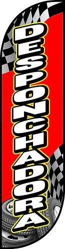 DESPONCHADORA Feather Flag