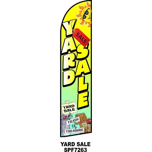 YARD SALE Feather Flag