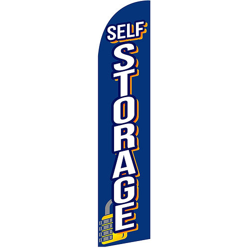 SELF STORAGE Feather Flag