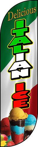 ITALIAN ICE Feather Flag