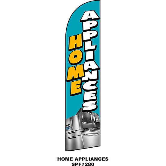 HOME APPLIANCES Feather Flag