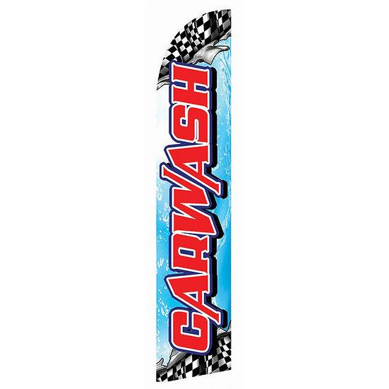 SPORTS CAR WASH Feather Flag