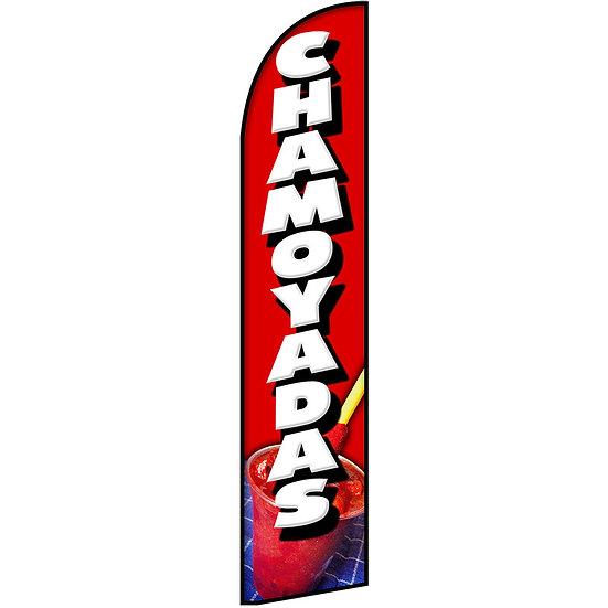 CHAMOYADAS Feather Flag