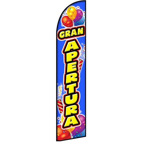 GRAN APERATURA Feather Flag