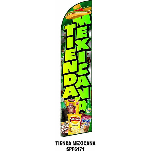 TIENDA MEXICANA Feather Flag