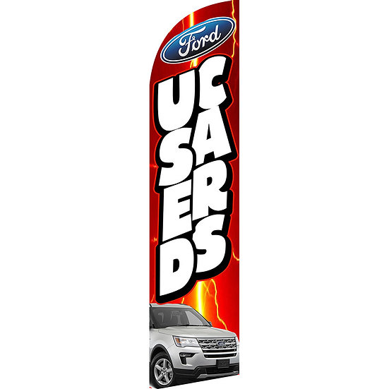 USED CAR FORD Feather Flag