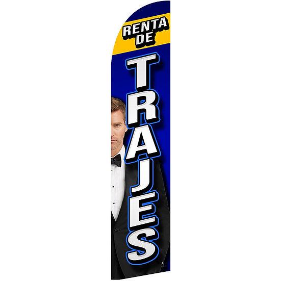 RENTA DE TRAJES Feather Flag