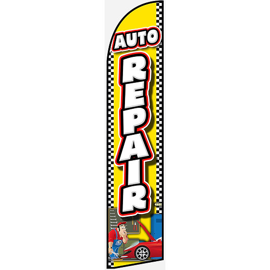 AUTO REPAIR Feather Flag