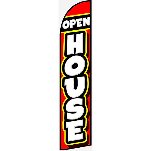 OPEN HOUSE Feather Flag