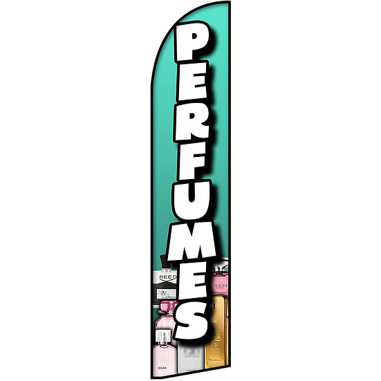 PERFUMES Feather Flag