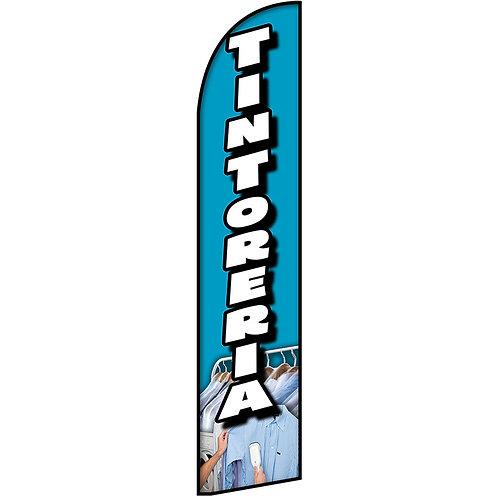 TINTORERIA Feather Flag