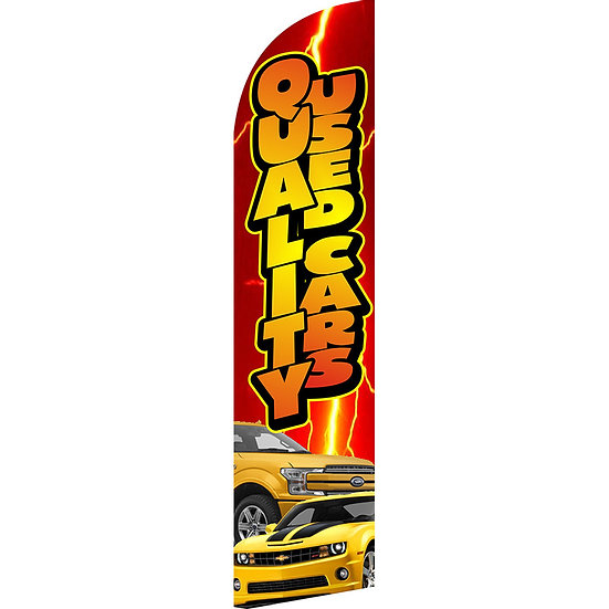 QUALITY CARS Feather Flag