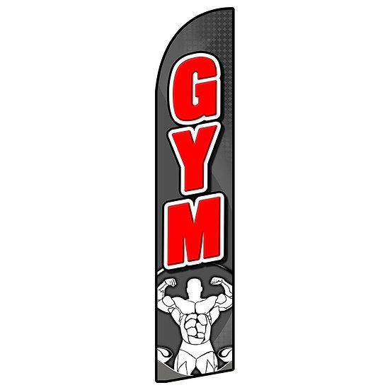 GYM Feather Flag