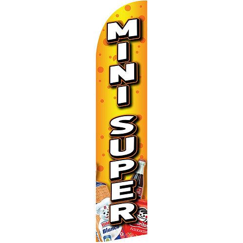 MINI SUPER Feather Flag