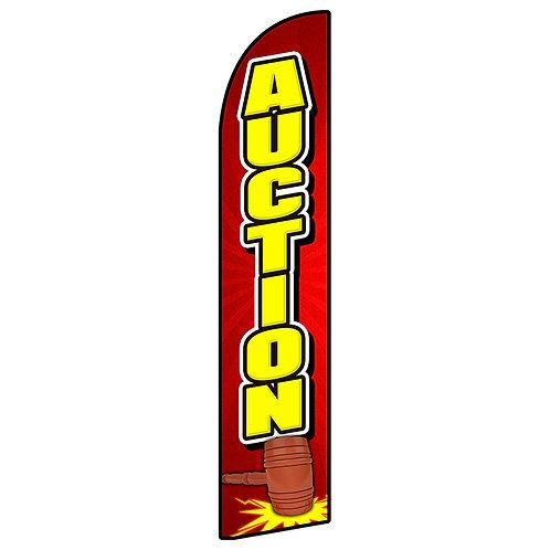 AUCTION Feather Flag