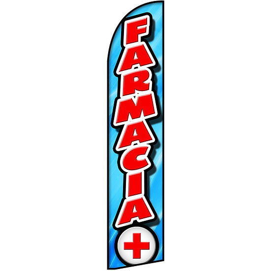 FARMACIA Feather Flag