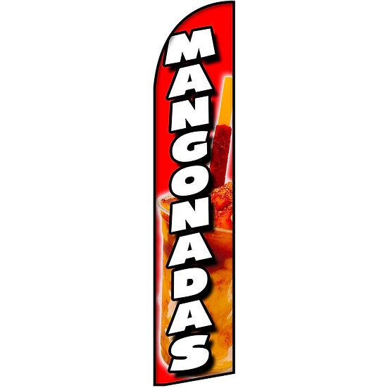 MANGONADAS Feather Flag